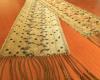 ラオスの手織り布:タオルやショールなど、八女で展示販売